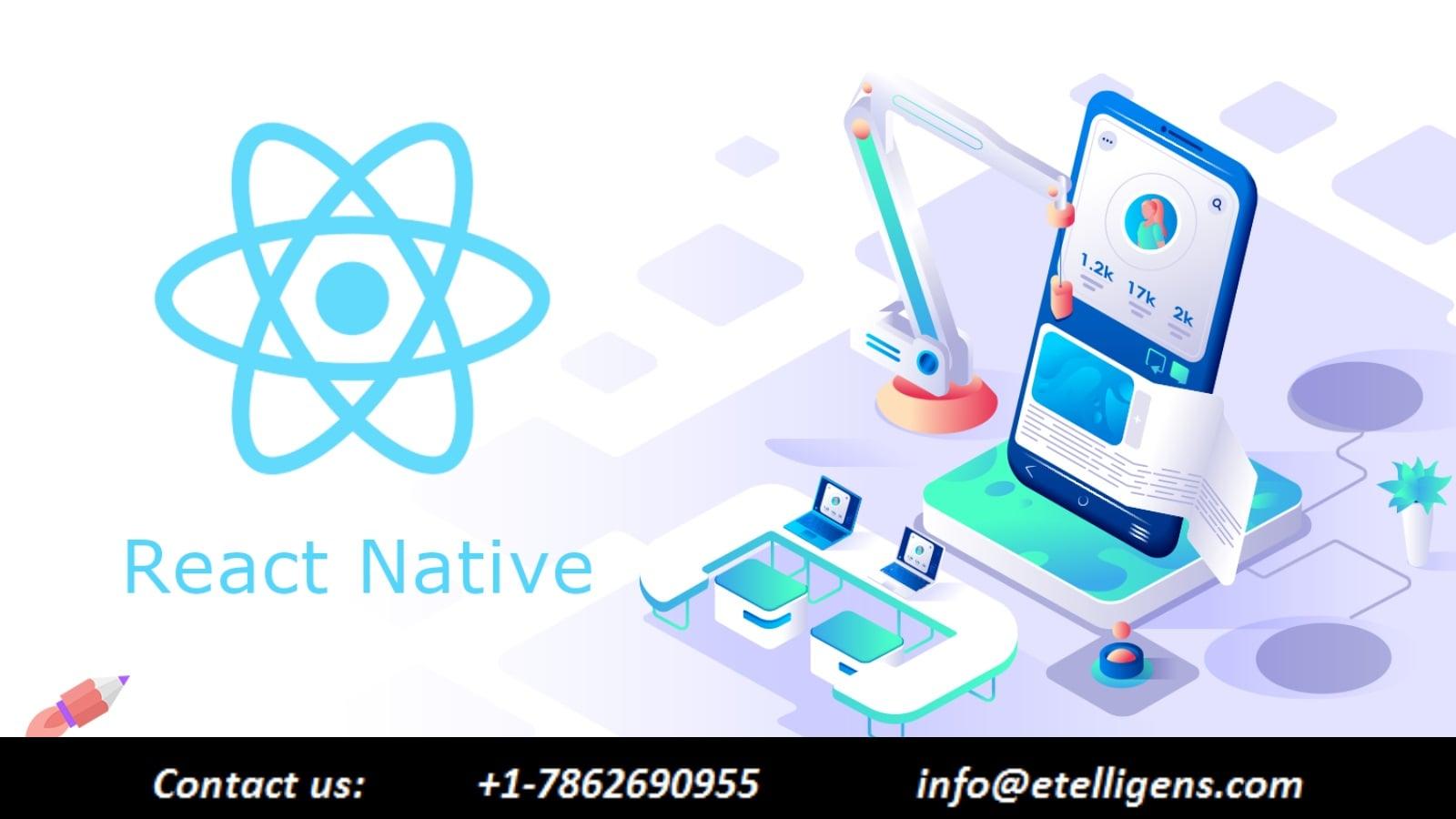 React native app development Features